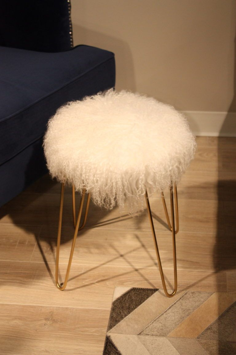 Fur Furniture Adds Glamour To Any Room