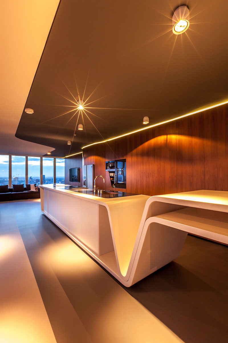 rotterdam-penthouse-kitchen-island-with-lights-on