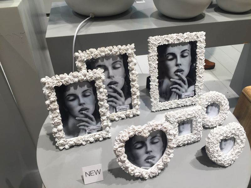 Special roses picture frames - diff shapes
