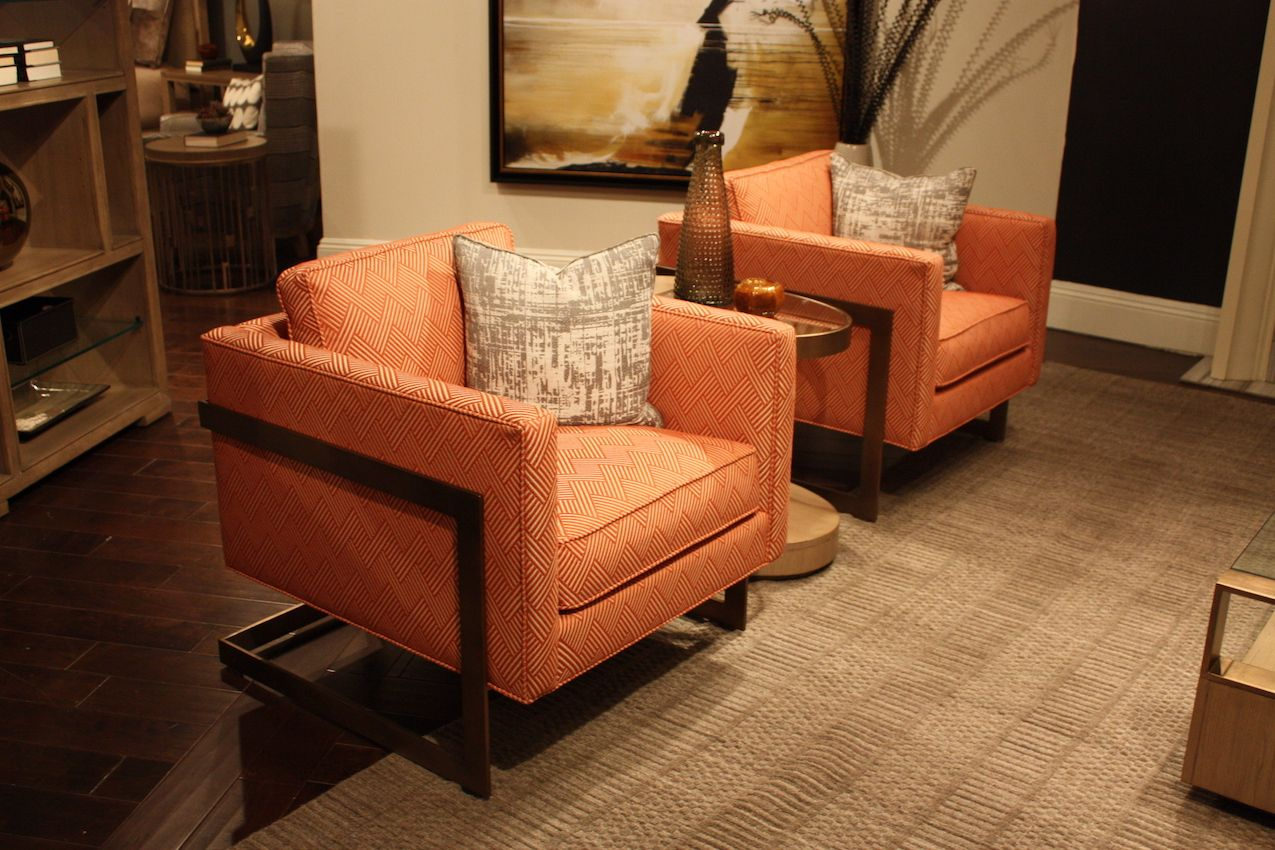 orange-swuare-upholstered-hairs