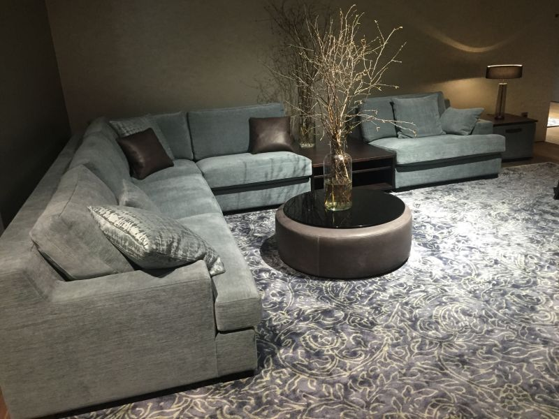 Aero Blue Living Room