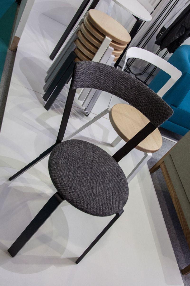 Alf Chair In Grey Pattern