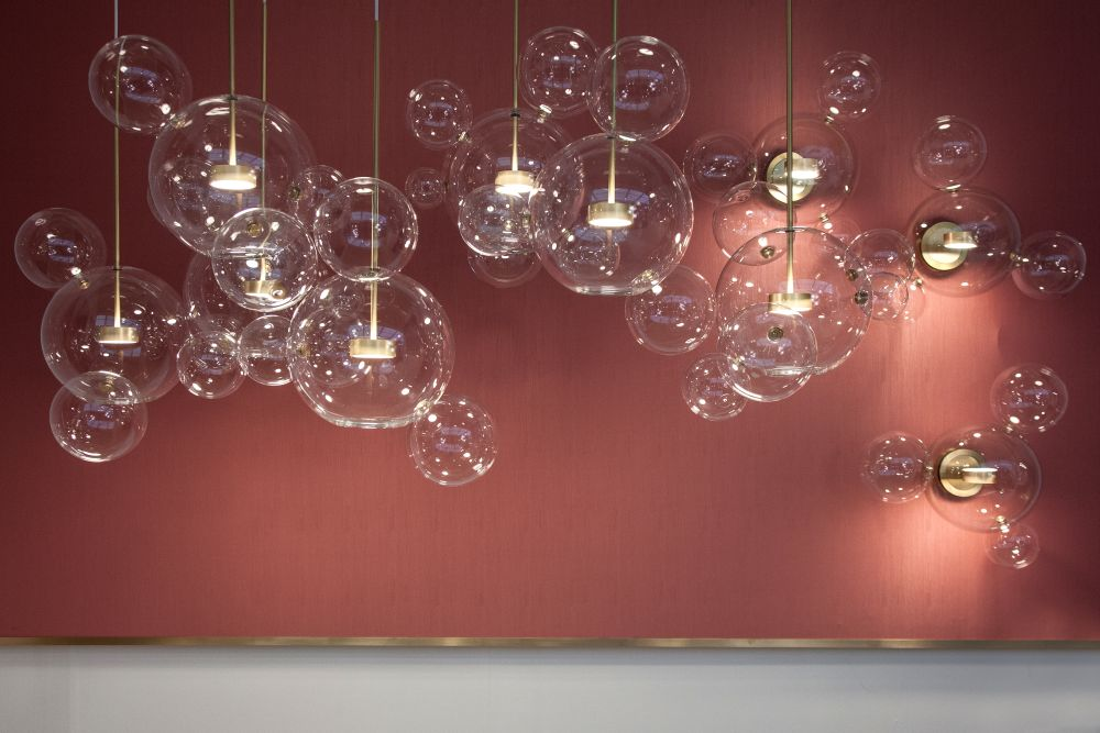 Bolle glass blow lamp