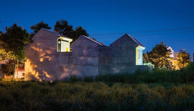 Can Tho House back facade