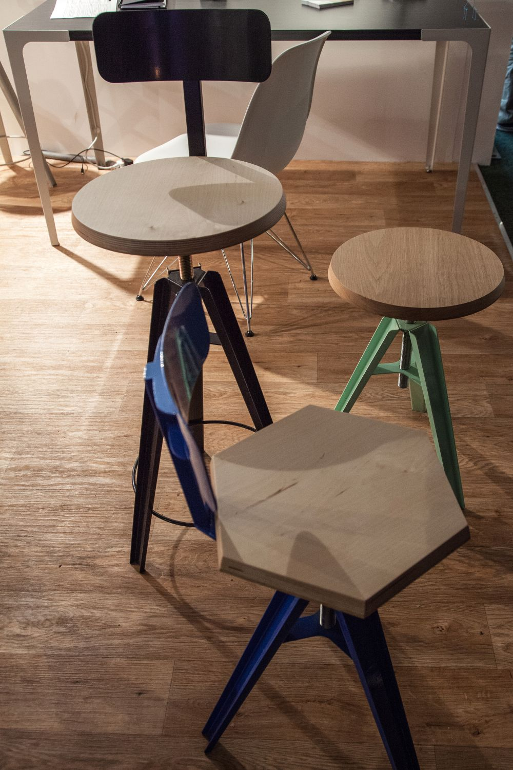 Circaproducts Stool Side Table Industrial Design