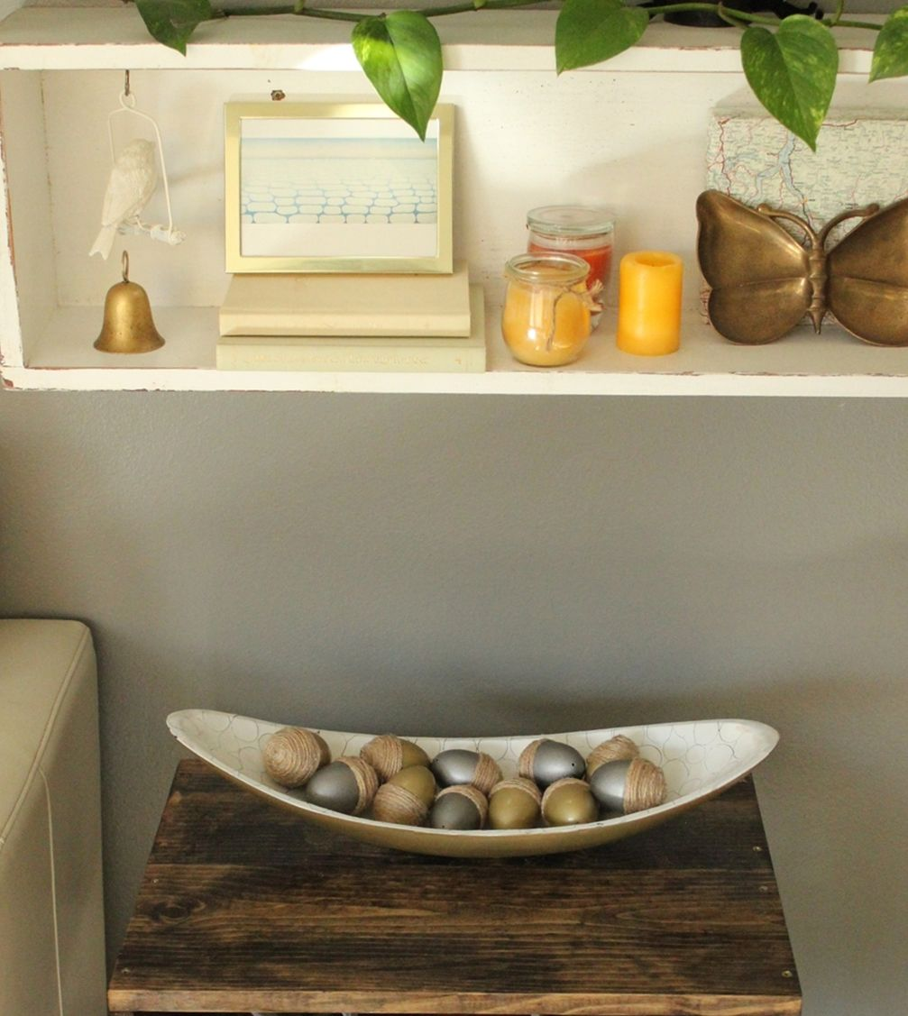DIY Acorn Eggs Decor
