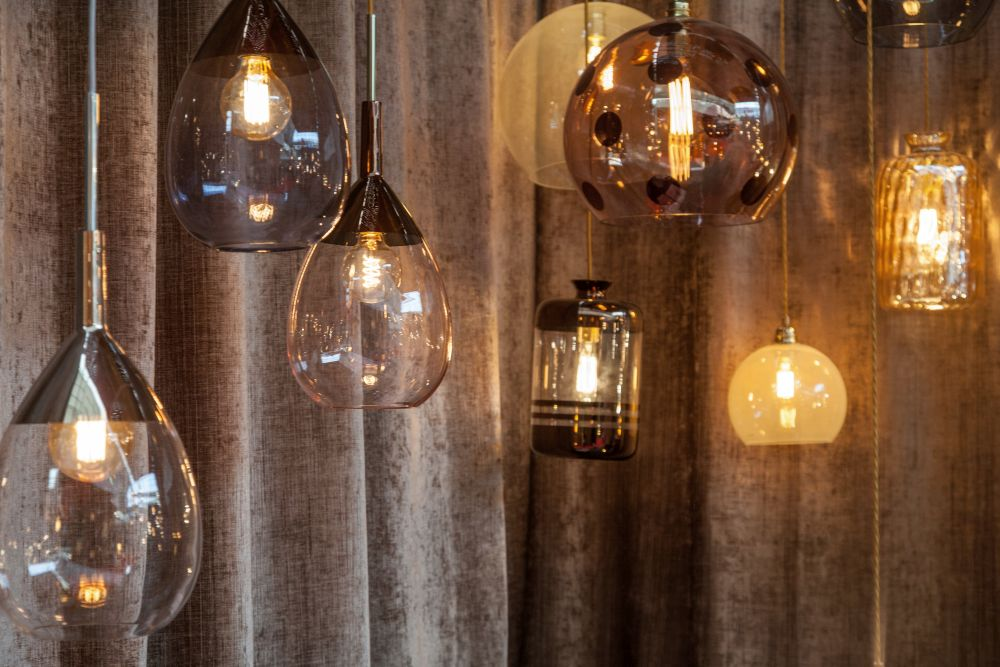 Ebb and Flow mini pendant lights