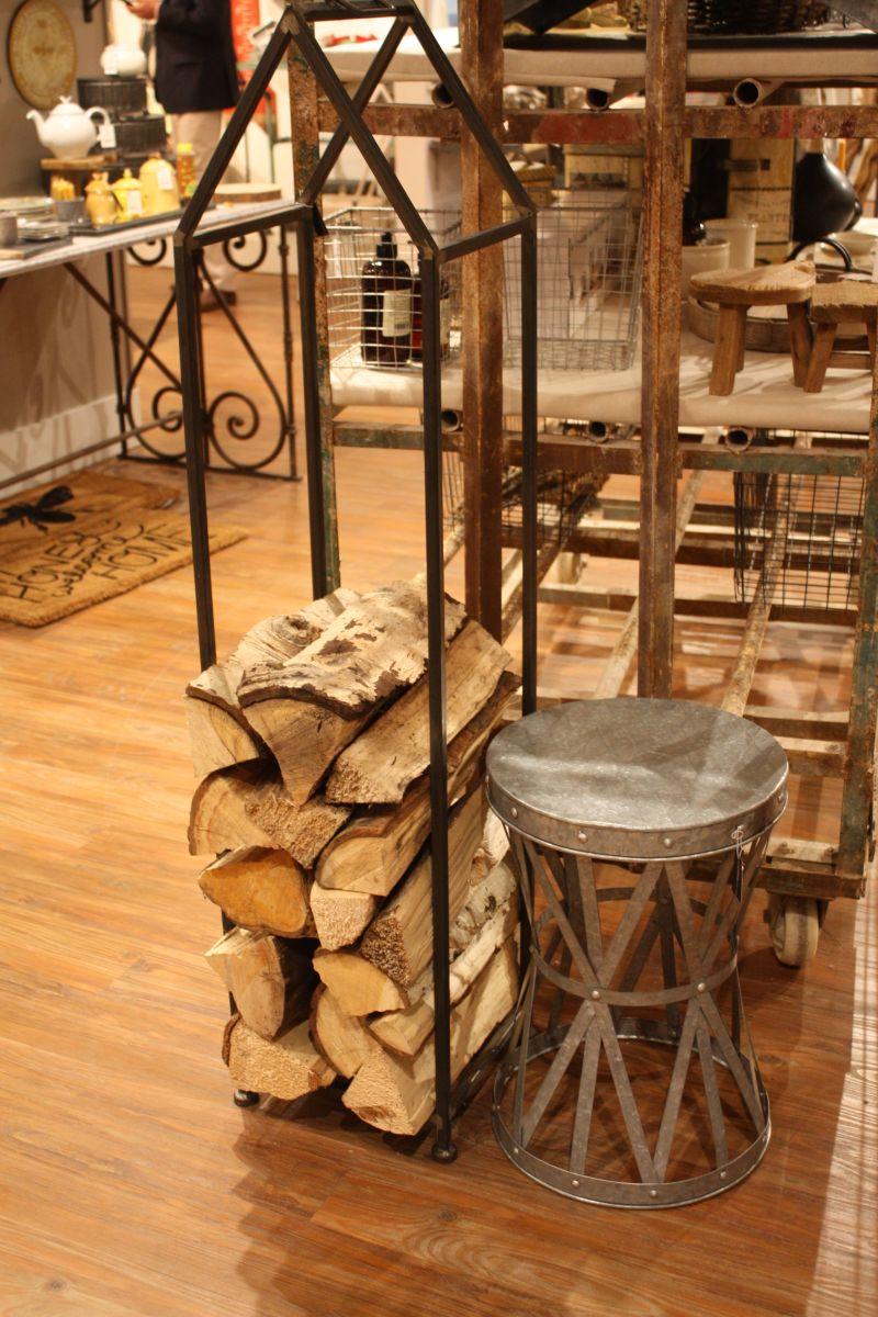 Industrial storage firewood
