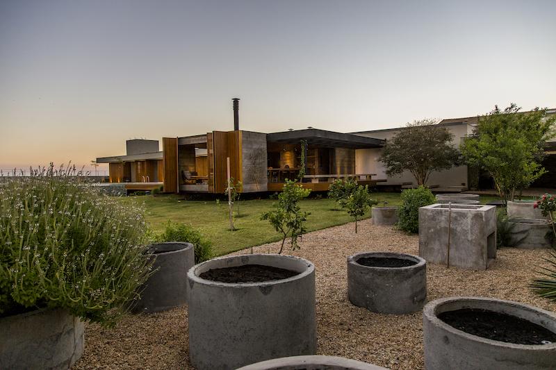 MCNY House concrete garden planters