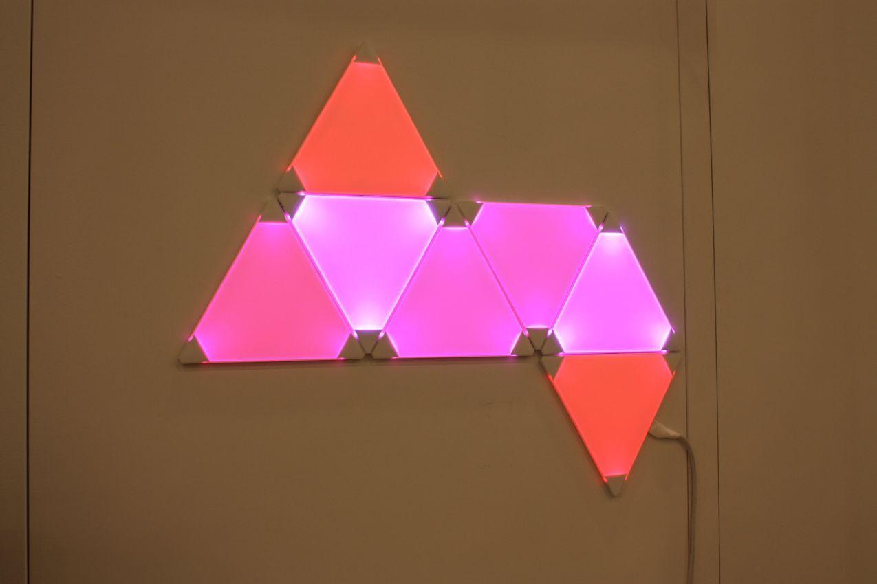Aurora LED Light Panels From NanoLeaf Home Decorating Trends Homedit