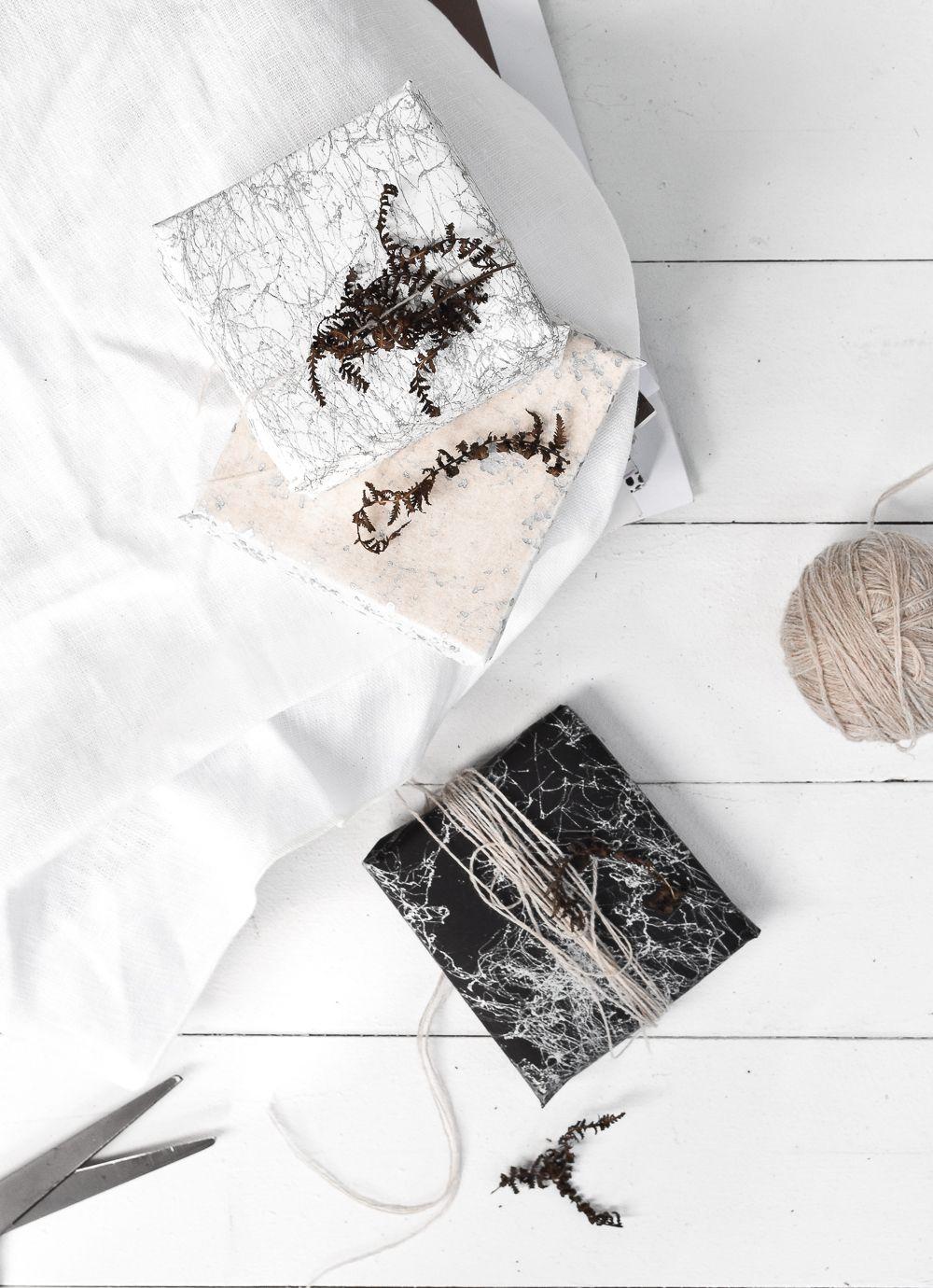 Scandinavian DIY Wrapping Paper