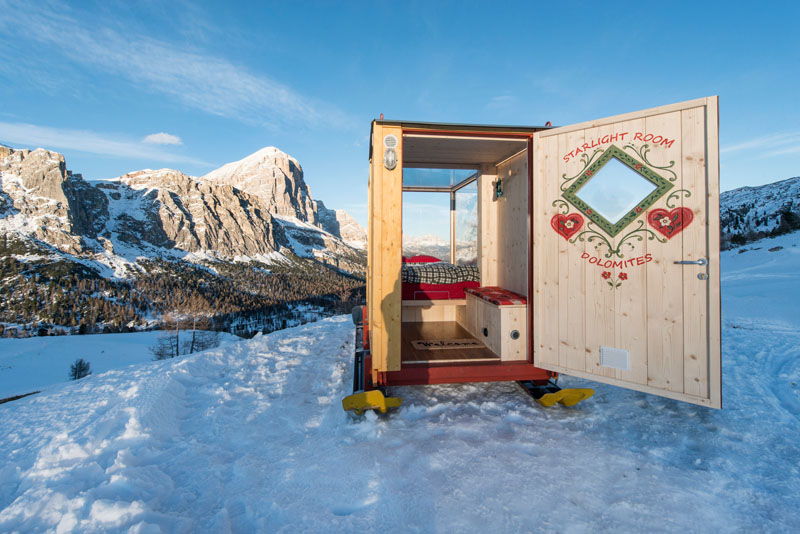 Super Tiny Cabin - northeastern Italy interior