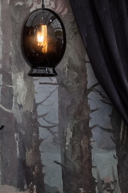 Vase Pendant Lighting in Black