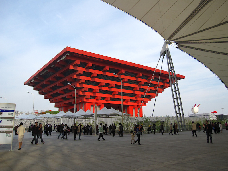 The China Art Museum at Shanghai World Expo