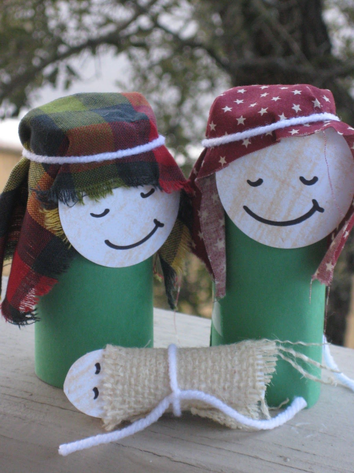 Christmas cute paper roll crafts