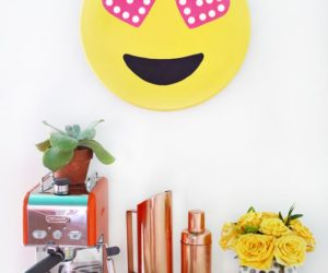 DIY emoji marquee