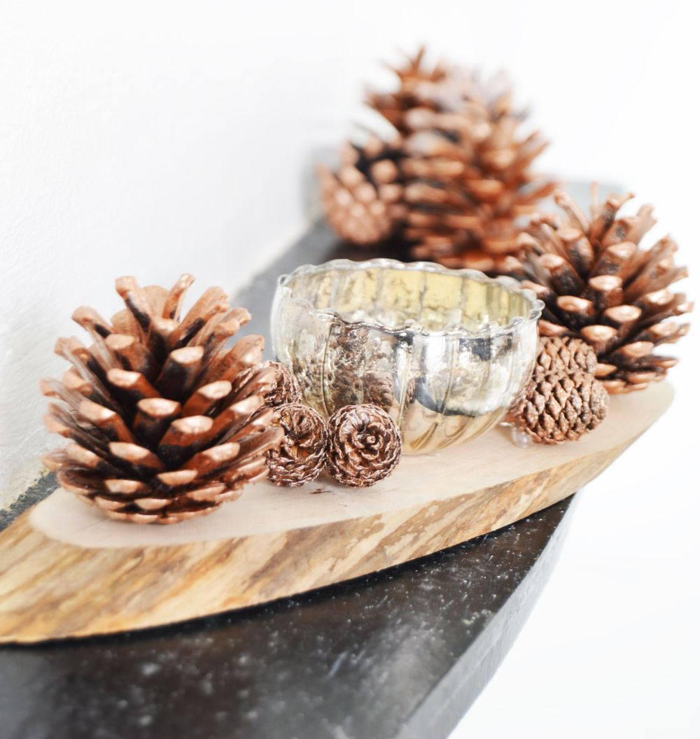 dress up your coffee table for christmas
