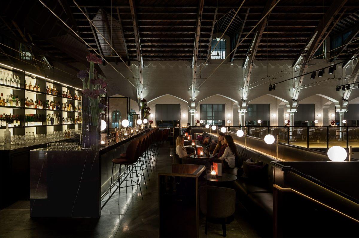 German Gymnasium by Conran & Partners – best UK restaurant