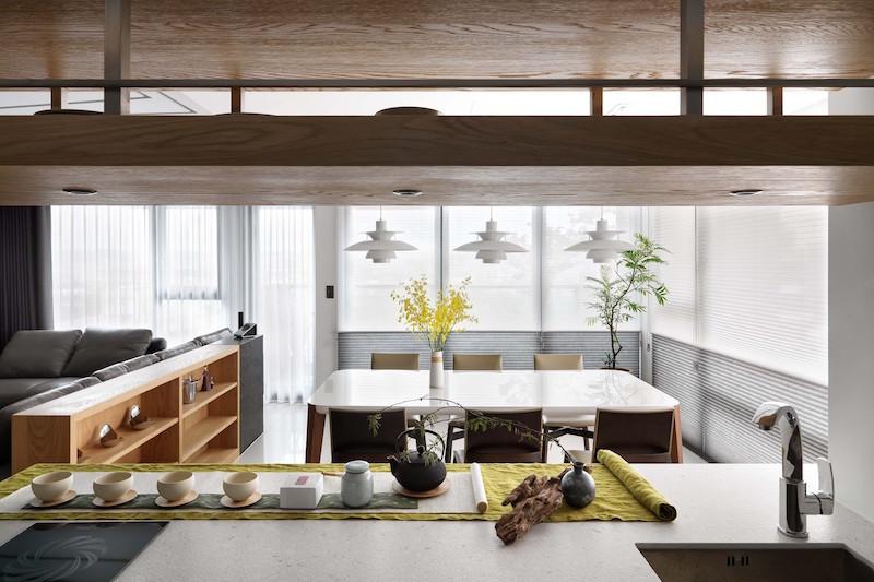 Jade apartment dining nook