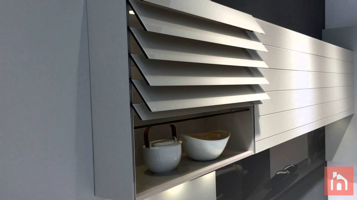 The Folding Door Trend Now Applied To Kitchen Cabinets