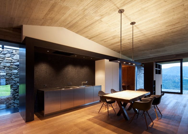 Old Farmhouse into two-storey residence interior