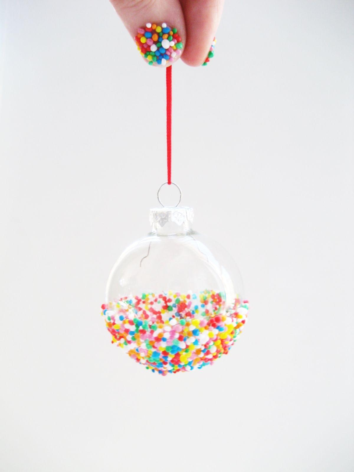 Sprinkles Tree Ornaments