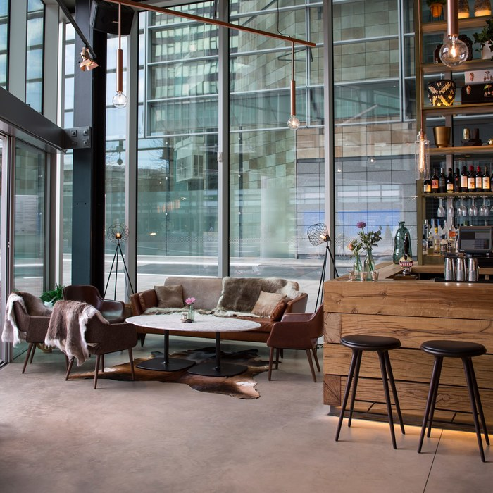 The Refinery by Fusion Design and Architecture Lounge Area