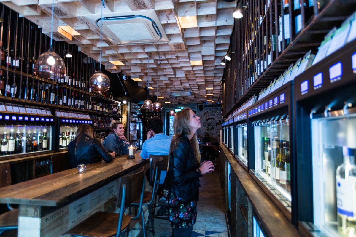 Wine tasting Bar & Wine Retail Design