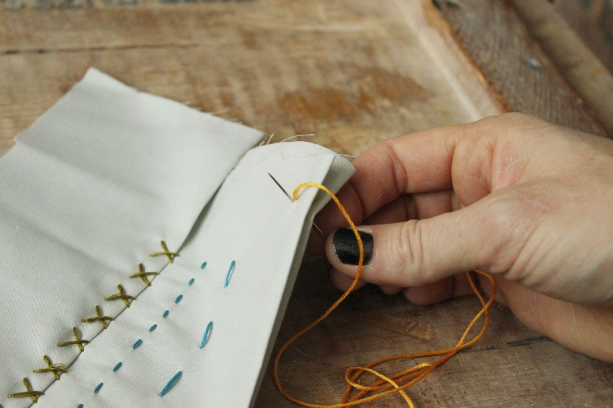 How To Sew Six Basic Hand Stitches