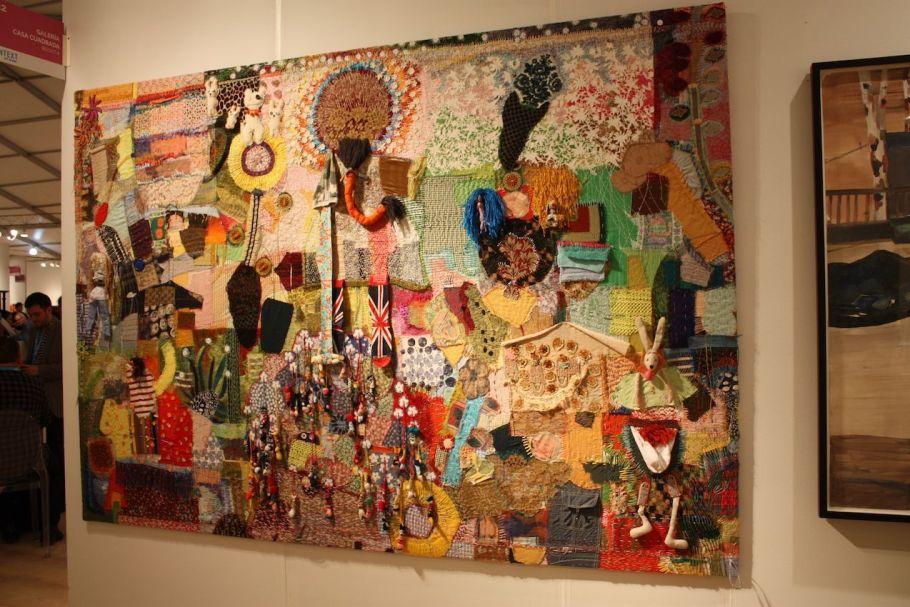 Carillo's work was presented by Galería Casa Cuadrada of Bogota, Colombia.