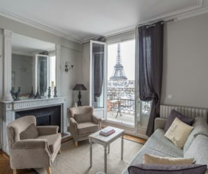 A Serene Paris Apartment With Plenty Of Charm And Great View