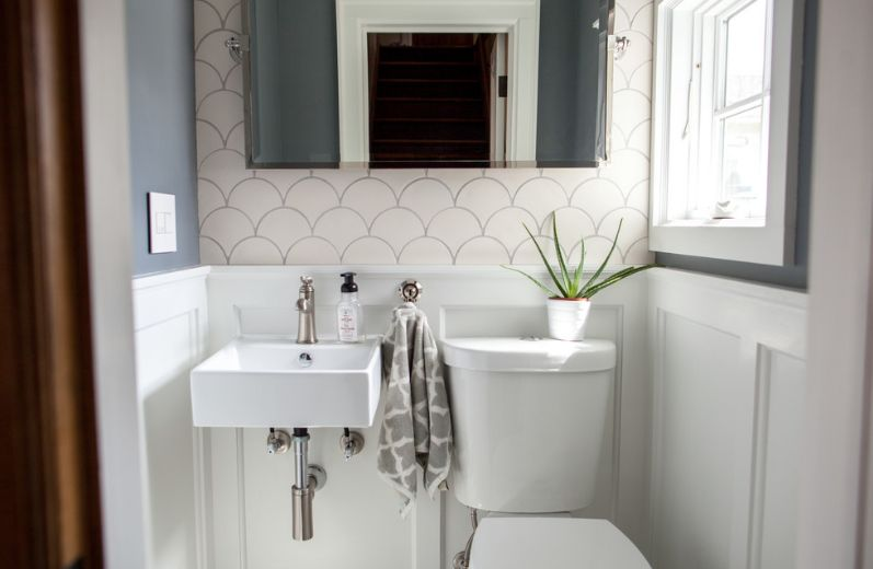 Simple Small Bathroom Designs