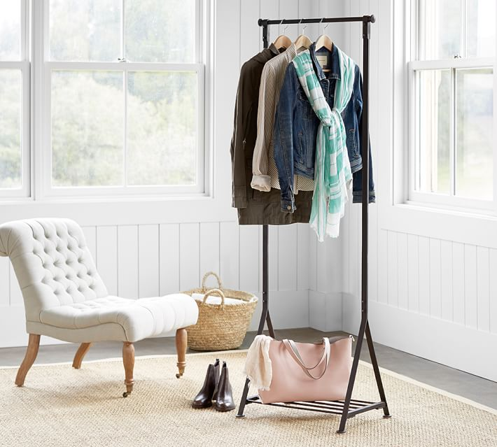 23 chic and practical diy clothes racks