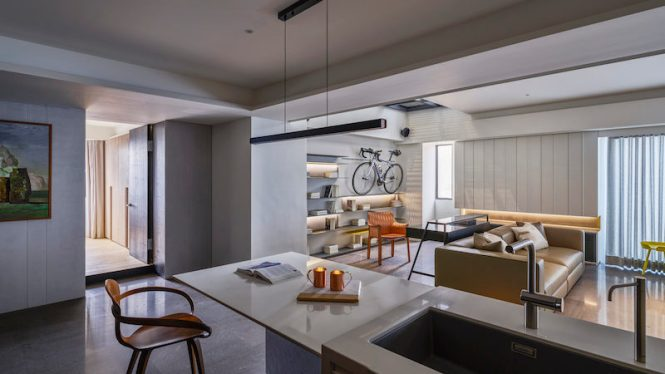 An Apartment Design Inspired By Hobbies And Al Beauty