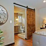 How To Make The Most Of A Barn Door In A Bedroom Bathroom Scenario