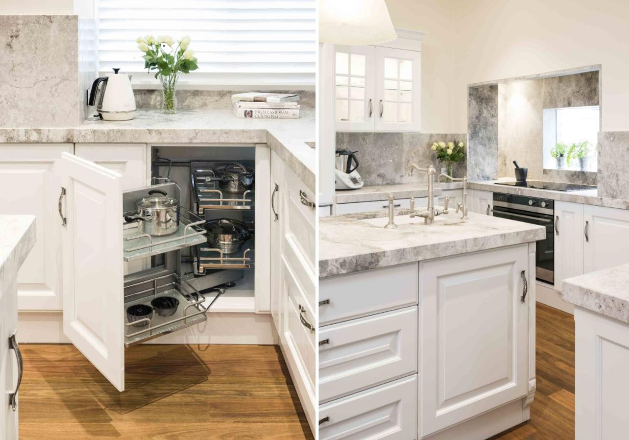 10 Corner Cabinet Ideas That Optimize Your Kitchen Space