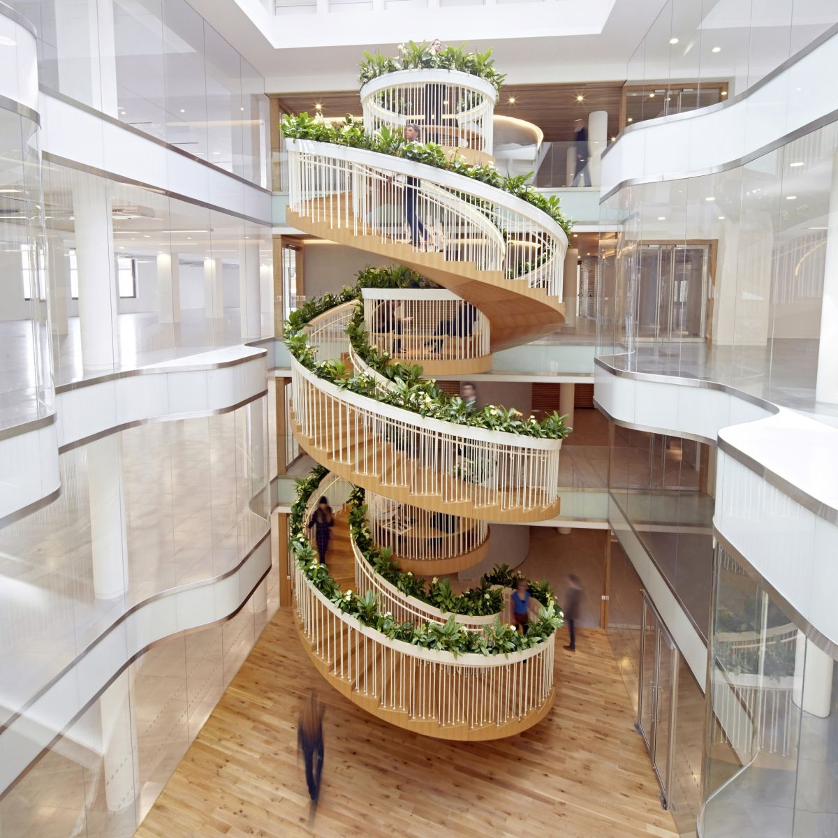 20 Of The Most Beautiful Spiral Staircase Designs Ever | Building A Spiral Staircase | Wood | Playground | Design | Rectangular | Attic