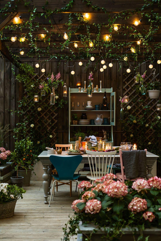 30 cool backyard lighting ideas for