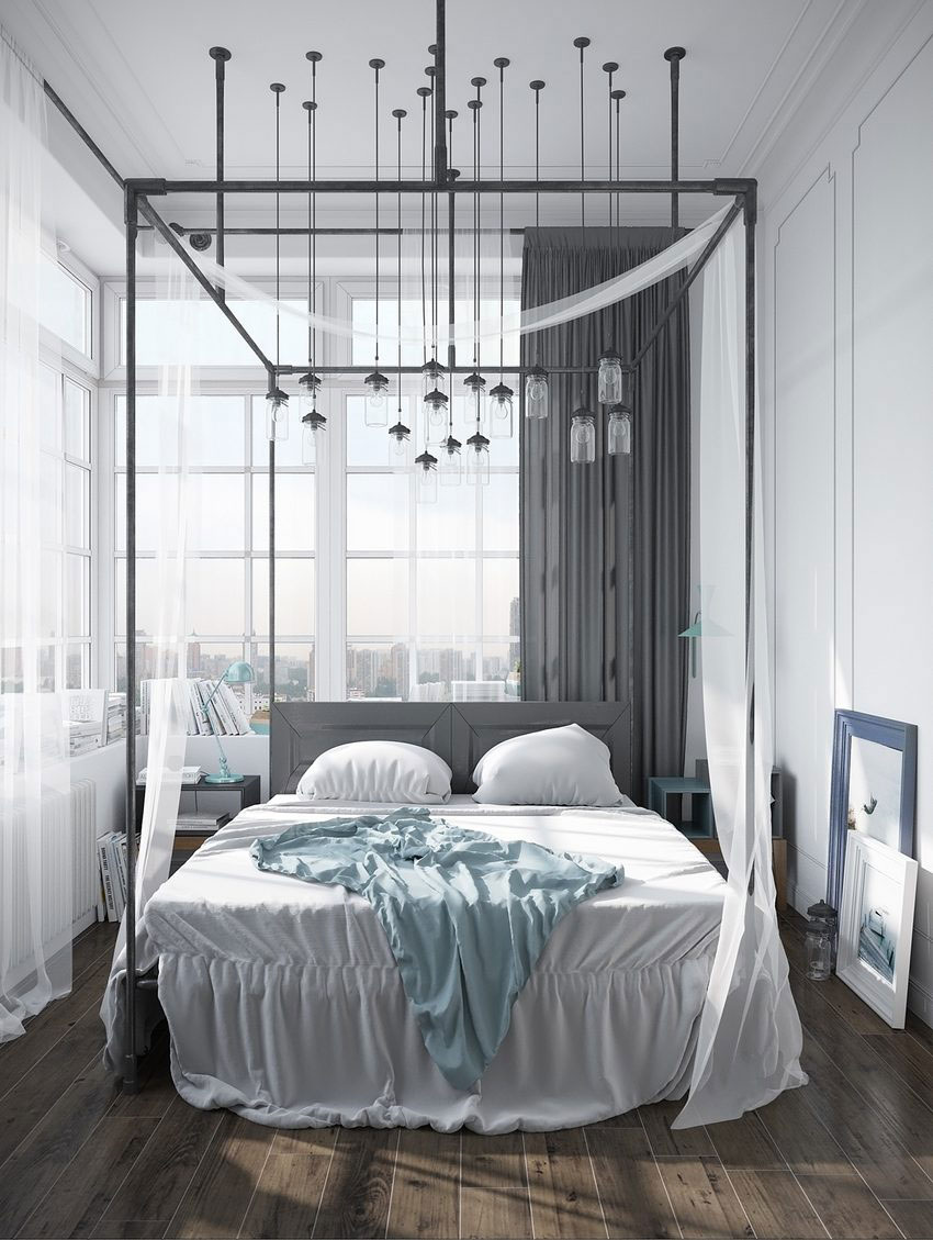 bohemian canopy beds bestow beauty upon