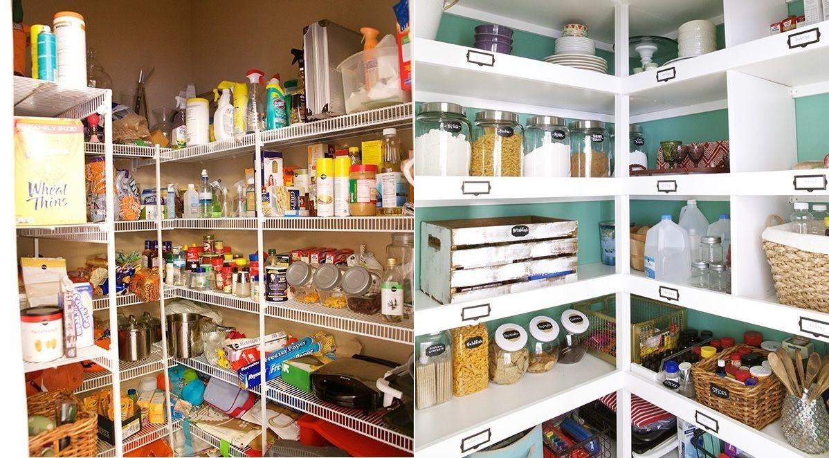 How To Organize Your Kitchen Pantry For Maximum Storage