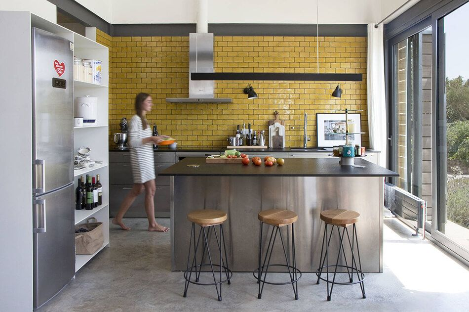 timeless subway tile accents