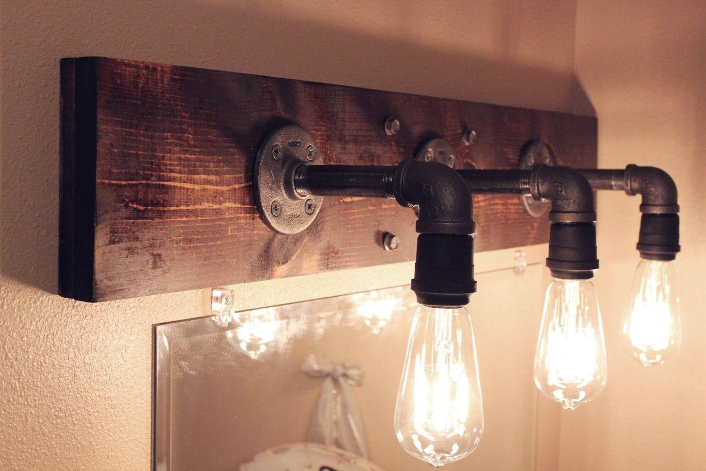 own diy industrial light fixtures