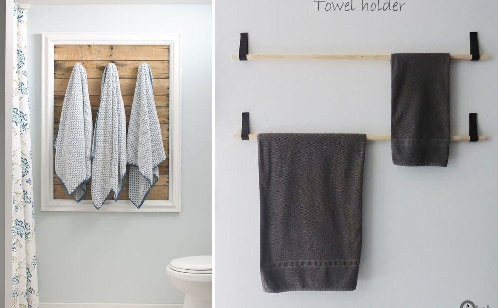 15 great bathroom towel storage ideas
