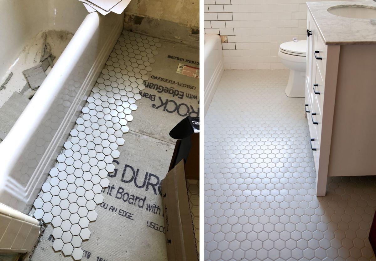 How To Update Your Bathroom Floor Tiles 6 Diy Ideas