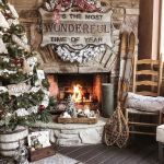 Rustic And Farmhouse Inspired Christmas Decor Ideas You