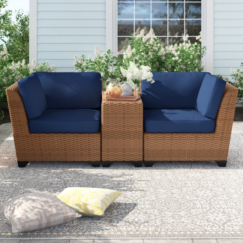15 best wicker patio furniture set for