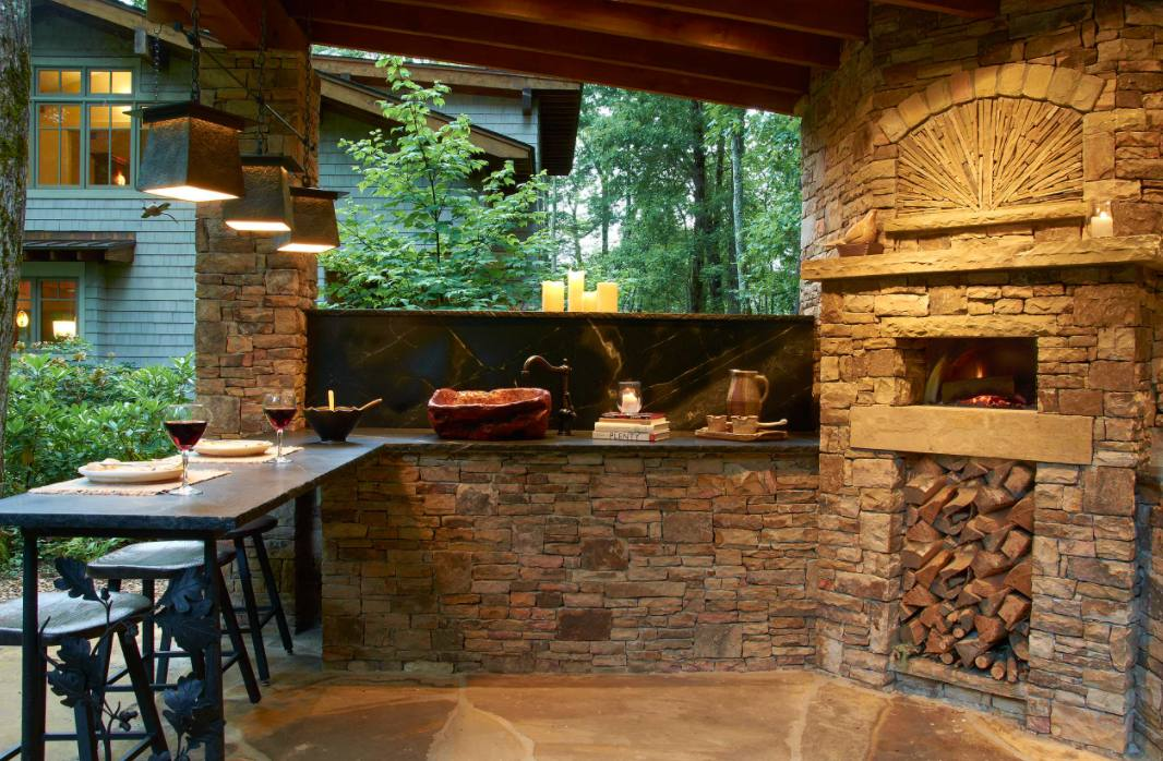 these backyard pizza oven ideas
