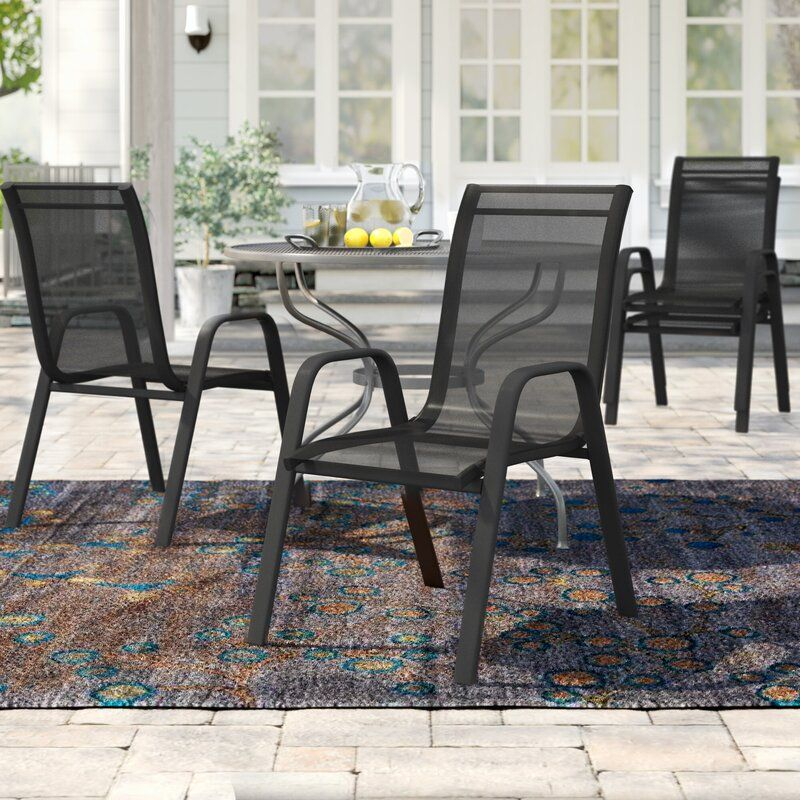 save your space with stackable patio chairs
