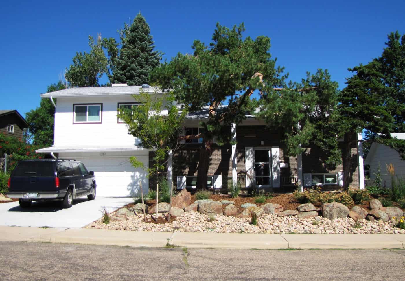 Before After 1963 Bi Level Remodeling In Boulder Colorado