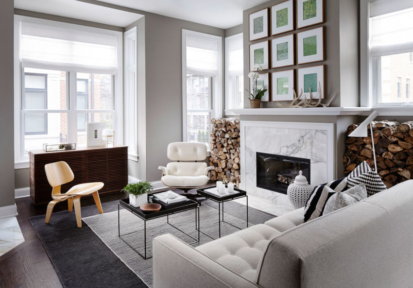 Chic And Modern Townhouse In Chicago By Gabriel Fontes De